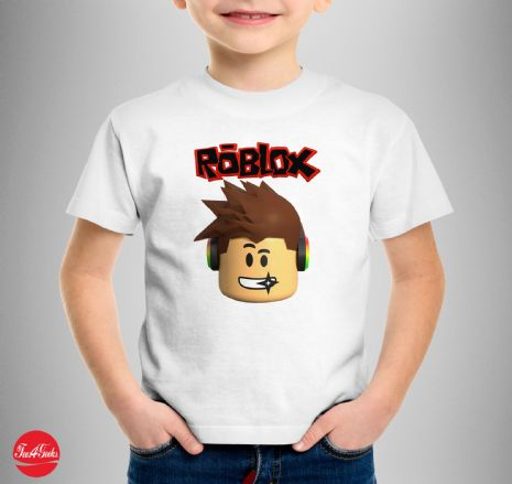Roblox Face Kids T-shirt